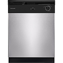 24-inch Front Control Build-in Tall Tub Dishwasher in Stainless Steel - ENERGY STAR®
