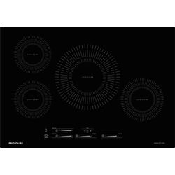 Frigidaire 30-inch Induction Cooktop with 4 Elements in Black