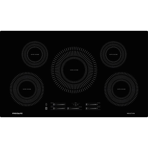 36-inch Induction Cooktopwith 5 Elements in Black