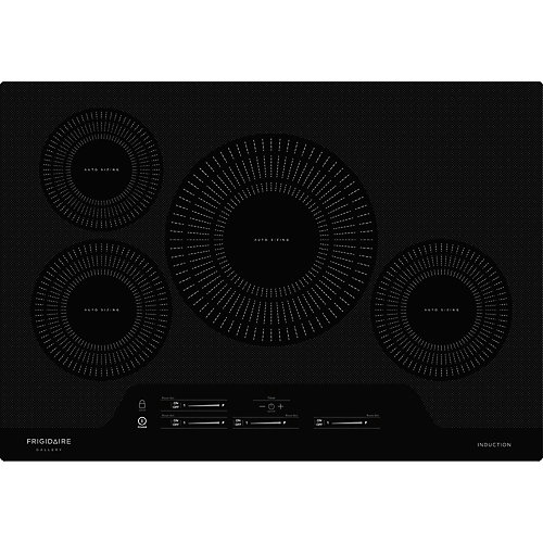 30-inch Smooth Electric Induction Cooktop with 4 Elements in Black