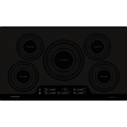 Frigidaire Gallery 36-inch Smooth Induction Cooktop with 5 Elements in Black