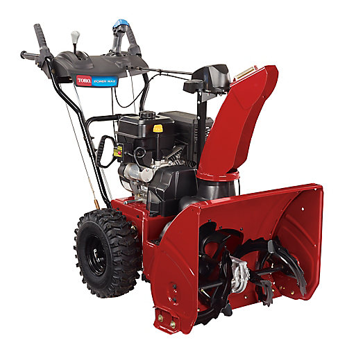 Power Max 824 OE 24 inch 252cc 2-Stage Electric Start Gas Snow Blower