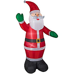 Home Accents Holiday 9 ft. Airblown Inflatable Santa