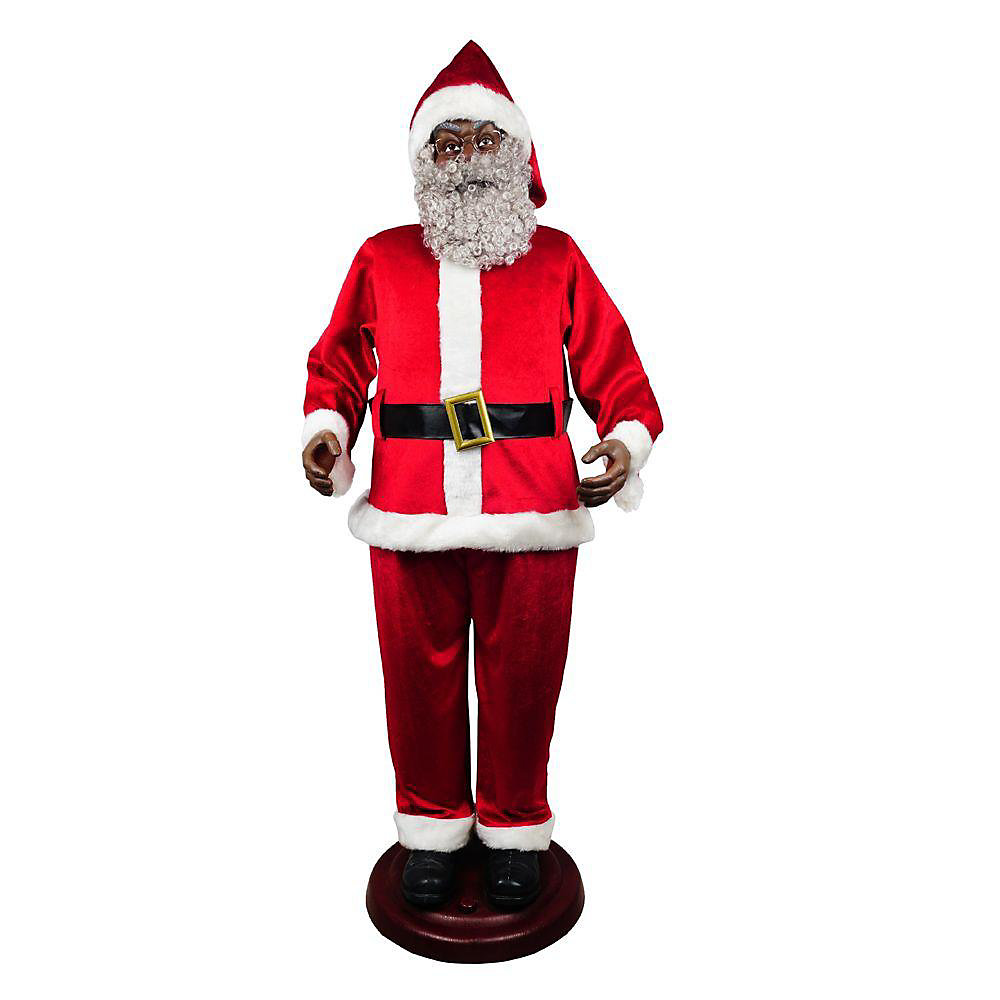 72 inch Santa with 3 musical songs
