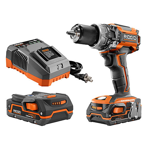 Gen5x 18V Lithium-Ion 1/2-inch Brushless Cordless Compact Hammer Drill Kit