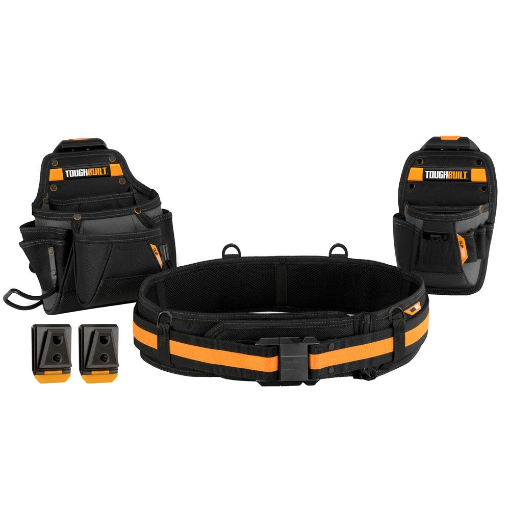 TOUGHBUILT 3 pc Handyman Tool Belt Set
