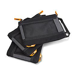 TOUGHBUILT Fastener Bags (3-Pack)