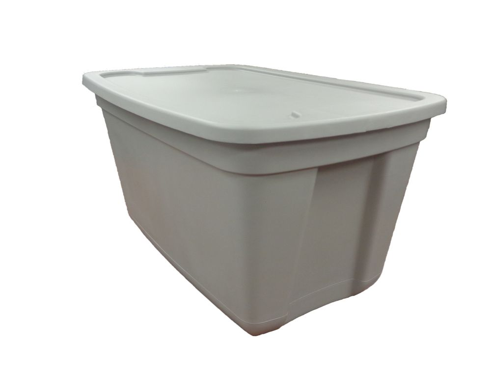 Edge Plastics 76L Storage Container Grey