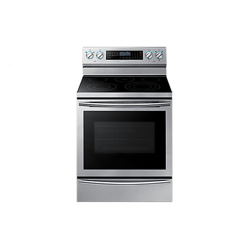 Electric Range with Steam Assist Oven in Stainless Steel