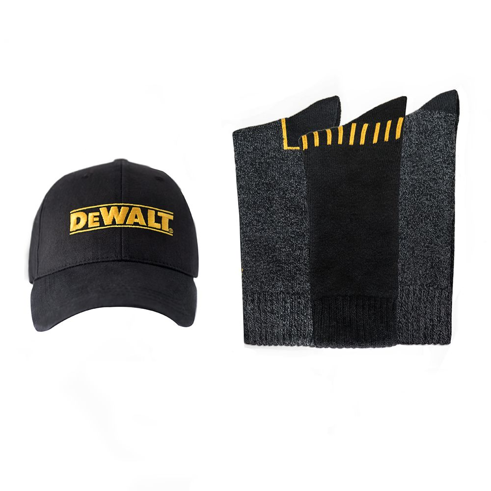 a7443c15e92 DEWALT Sock and Ball Cap Combo