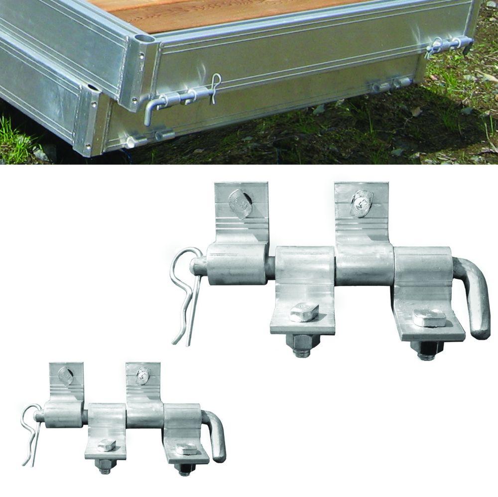 Multinautic Pair (2) Aluminum Connector Hinges  for QP-454, QP-475 and QP-500 Aluminum Docks