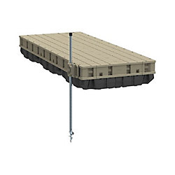 Playstar Premium Frame Floating Dock Kit with Resin Top  4 ft.x 10 ft.
