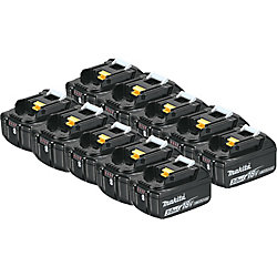 MAKITA 18V (3.0 Ah) Li-Ion Battery, 194288-3 (10-Pack)