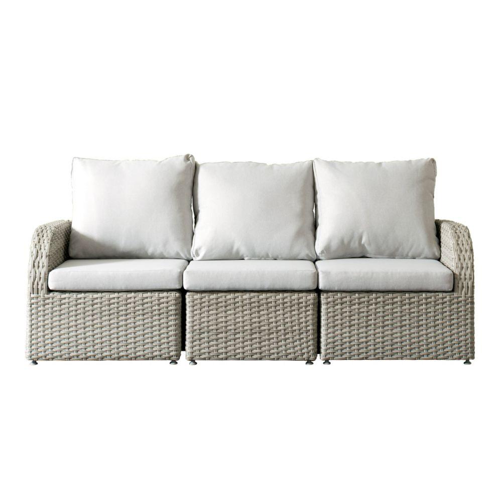 Sofa Slipcovers Brisbane: Velago Generoso 7-Piece All-Weather Wicker Patio Sectional