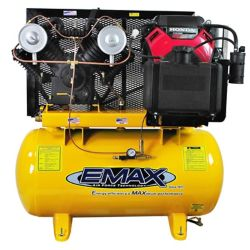 EMAX Industrial Plus  18 HP 2-Stage 60 gal. Stationary Gasoline Air Compressor