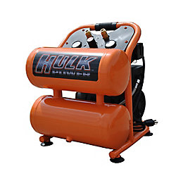 EMAX Hulk 1hp 4 Gal. Silent Air Portable Compressor