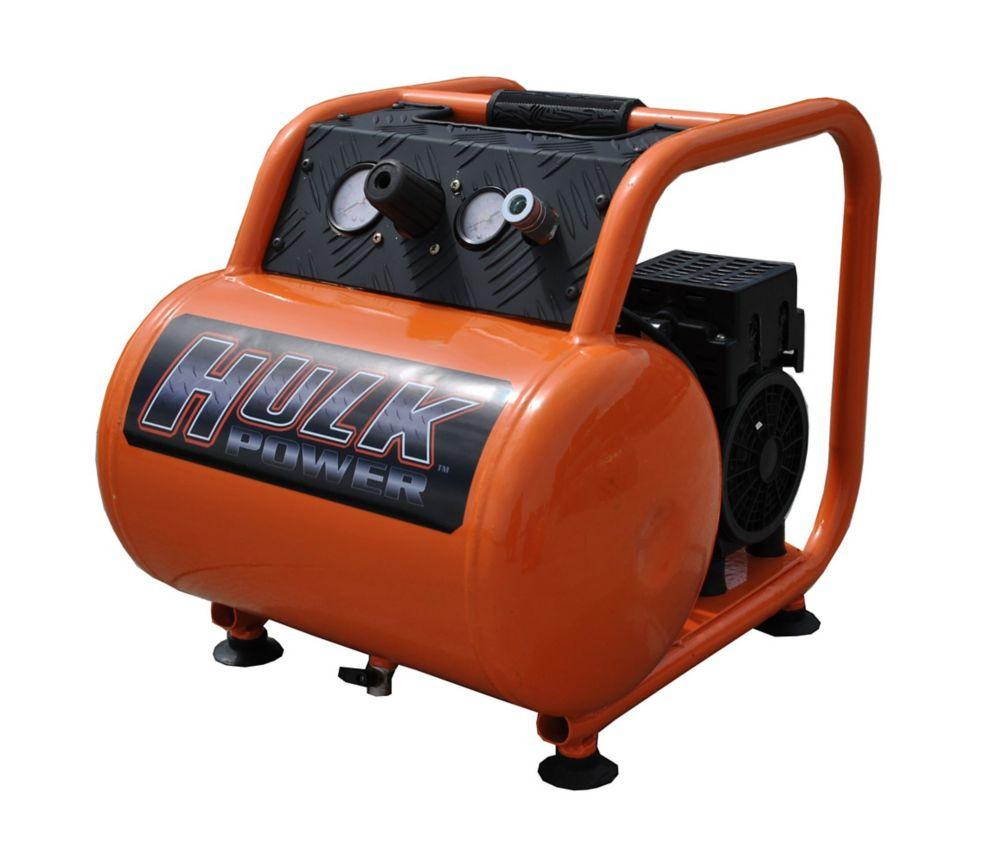 EMAX Hulk by 1hp 5 Gal. Silent Air Portable Compressor