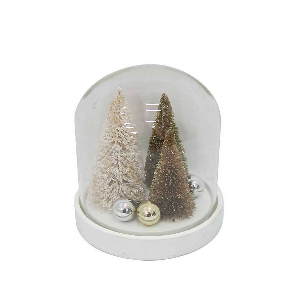 40ad4dede5ec16 Home Accents Holiday Tree in Cloche Christmas Decoration | The Home ...