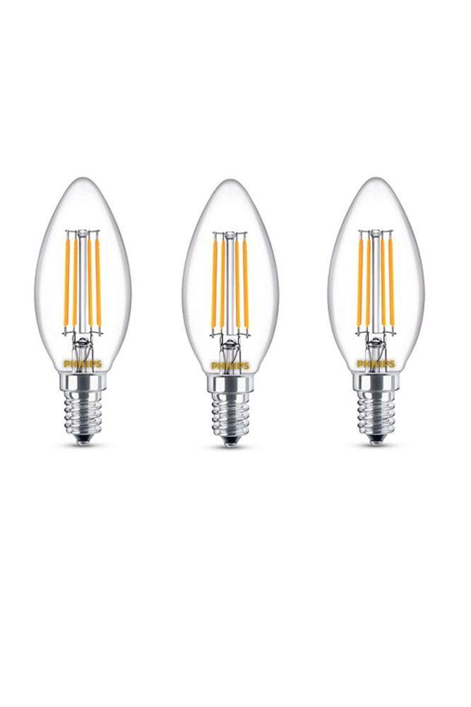 Led Daylight Bulb: Philips 60W Equivalent Daylight Glass (5000K) Chandelier