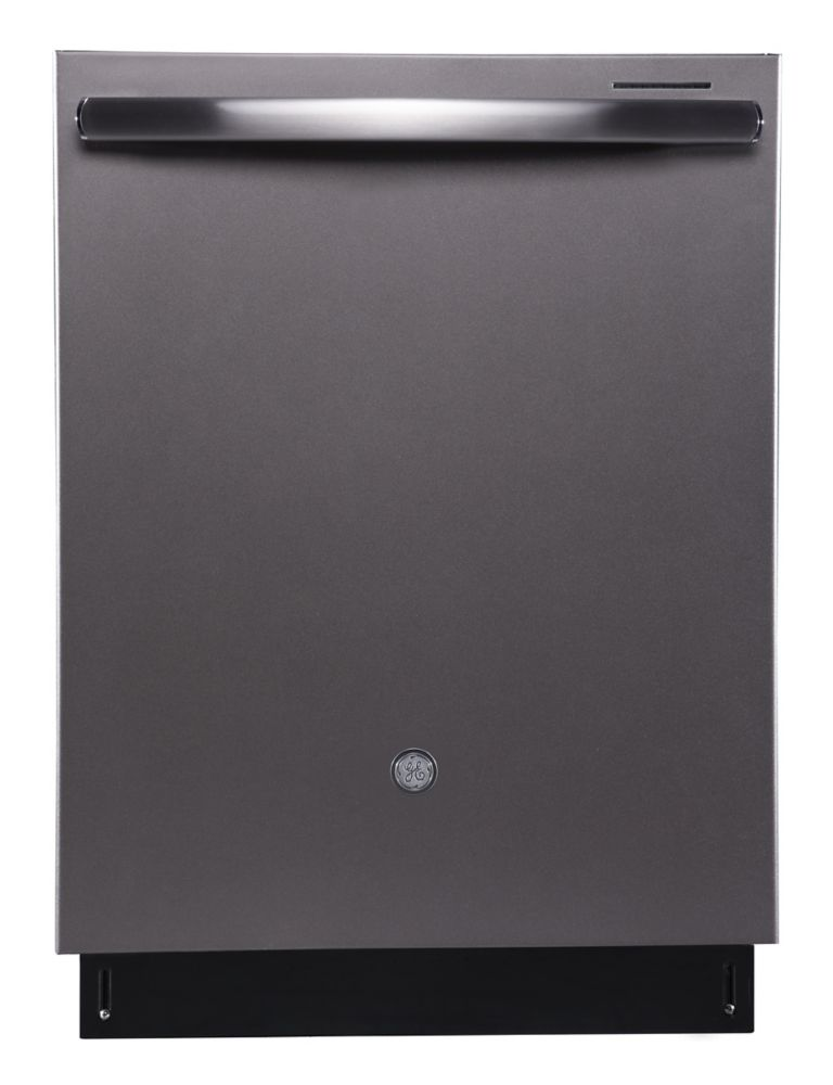 GE Profile Built-In Tall Tub Dishwasher in Slate with Stainless Steel Tub - ENERGY STAR®