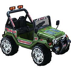 Green 12V Ride on Jeep Wrangler