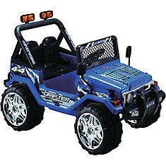 Jeep Wrangler Bleu Porteur de 12 Volts