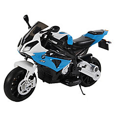 BMW 12V Bleu moto