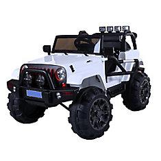 White 12V Mudslinger
