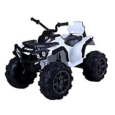 White 12V K-4 Super Quad