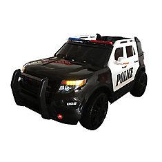 Police Cruiser 12V Ride-On Toy Car