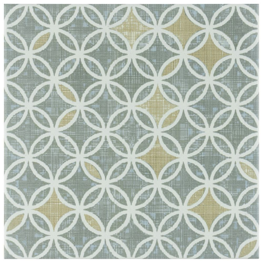 Merola Tile Boheme Full 7 3/4-inch x 7 3/4-inch Ceramic Floor and Wall Tile (11 sq. ft. / case)