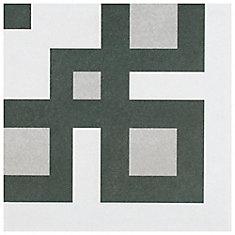 Twenties Corner 7-3/4-inch x 7-3/4-inch Ceramic Floor and Wall Tile (11 sq.ft. / case)