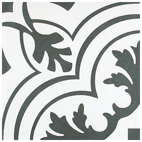 Twenties Vintage 7-3/4-inch x 7-3/4-inch Ceramic Floor and Wall Tile (11.11 sq. ft. / case)