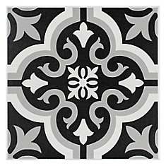Braga Classic 7 3/4-inch x 7 3/4-inch Ceramic Floor and Wall Tile (10.76 sq. ft. / case)