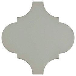 Merola Tile Carreau en porcelaine pour sol/mur Provenzale Lantern gris 8 po x 8 po (6,48 pi2/boîte)