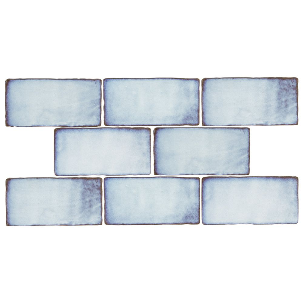 Jeffrey Court Royal Cream Bevelled 3-inch x 6-inch Ceramic Wall Tile ...
