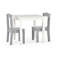 a434c7e6e06 Inspire Table and 2 Chairs ( White Table