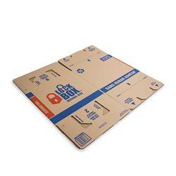 Pratt Retail Specialties Lock Box Tapeless Moving Box
