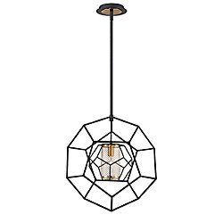 Eurofase Bettino Caged 1-Light Pendant - 33700-014