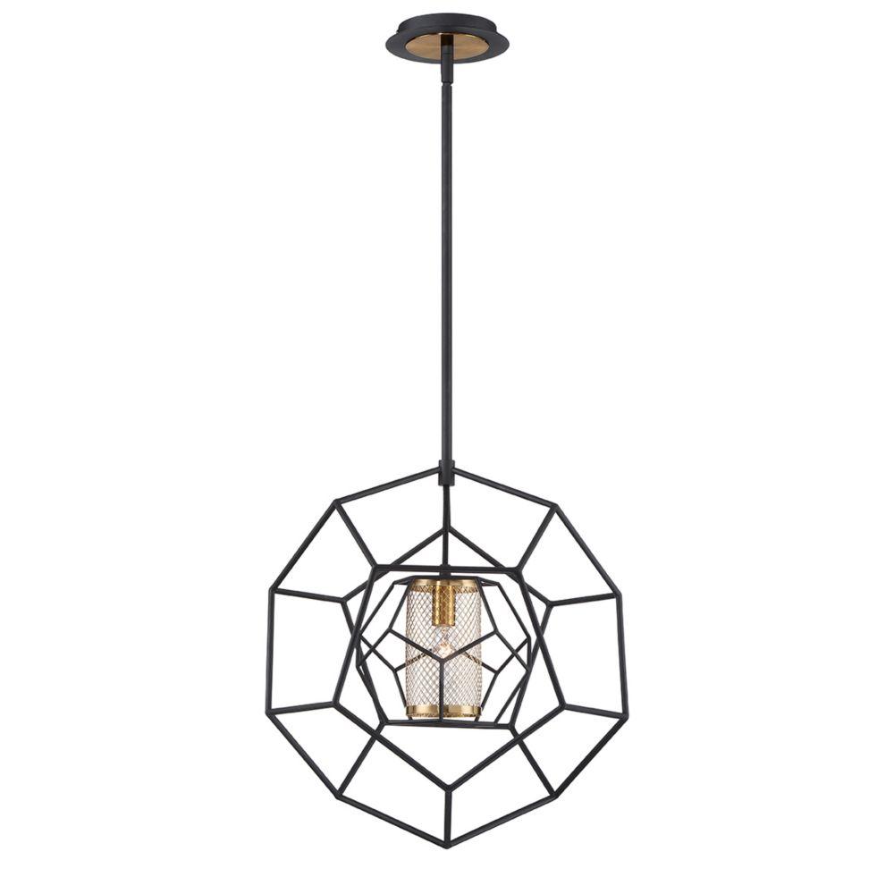 Eurofase Bettino Caged 1-Light Pendant - 33700-014