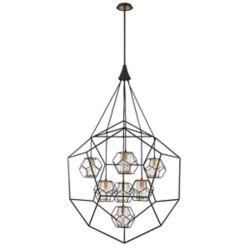 Eurofase Bettino Caged 7-Light Chandelier - 33702-018