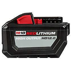 Milwaukee Tool M18 18V Lithium-Ion 12.0Ah High Output Battery