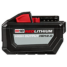 M18 18-Volt Lithium-Ion 12.0Ah High Output Battery Pack