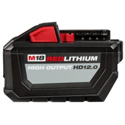 Milwaukee Tool M18 18V Lithium-Ion 12.0Ah High Output Battery