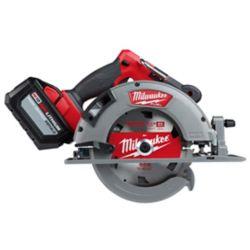 Milwaukee Tool M18 FUEL Kit de scie circulaire sans fil sans fil au lithium-ion 18V avec (1) batterie de 12.0Ah de 7-1/4 pouces