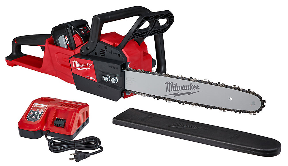 M18 FUEL 18V Li-Ion Brushless Cordless 16-inch Chainsaw Kit with 12.0Ah Battery