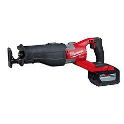 Milwaukee Tool M18 FUEL Kit de scie à guichet sans fil sans fil SUPER SAWZZALL 18V sans fil avec batterie au lithium-ion
