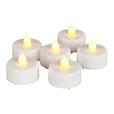 6 pc LED Colour Change Tealights