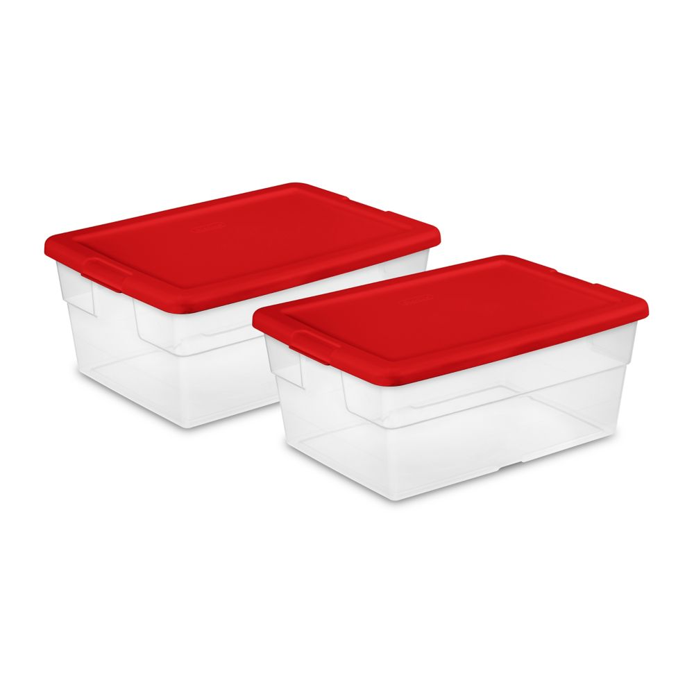 Sterilite 15L Storage Box (2-Pack)