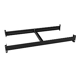36-inch W x 4.25-inch H x 18-inch D Beam & Brace Kit in Black